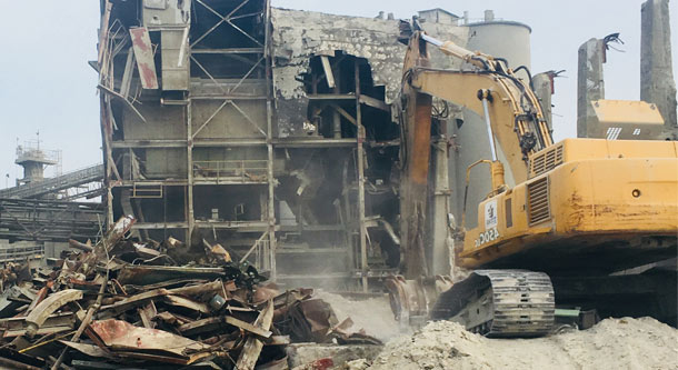 structural demolition contractor
